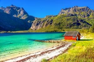 SST Noorwegen Lofoten strand 1000x