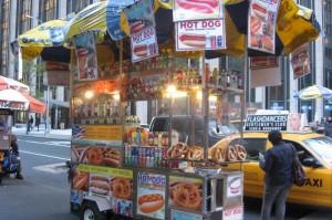 Free foto New York Food cart 1000x
